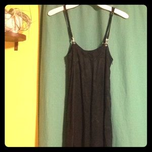 UO Silence + Noise overall Maxi Dress XS